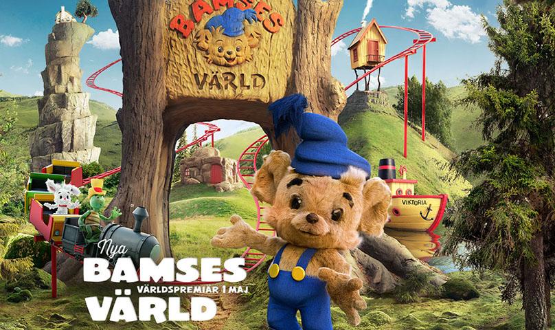 kolmården bamses nya värld